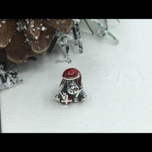 Pandora Disney Eeyore Red Enamel S925 Charm